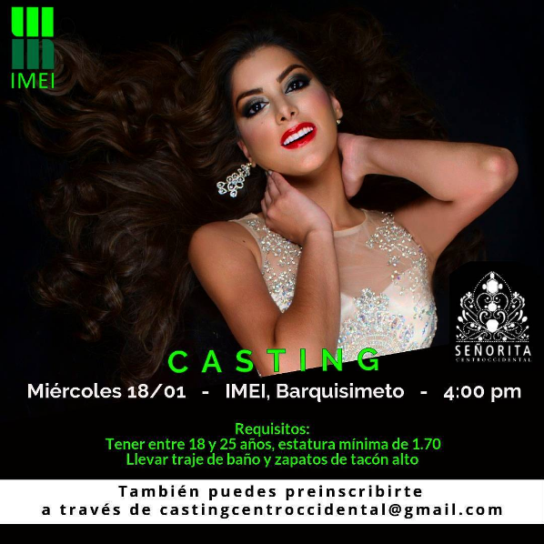 Casting Señorita centroccidental