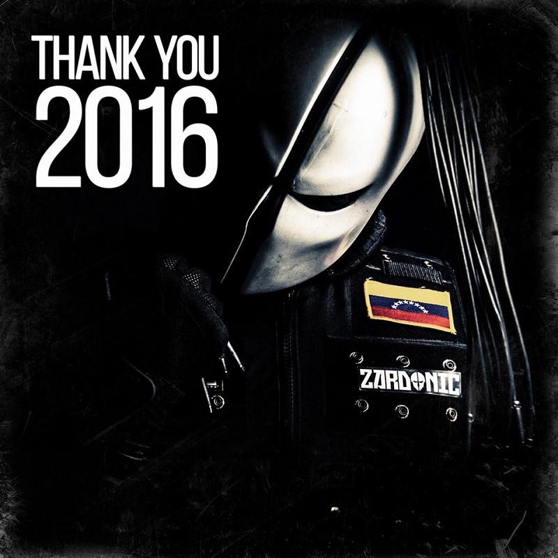 Zardonic 2016 año de éxitos