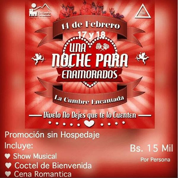Día del amor y amistad en Barquisimeto