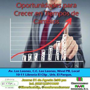 Oportunidades para crecer