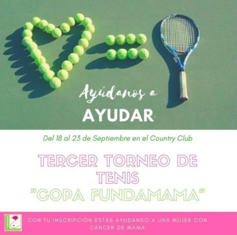 3er Torneo de Tenis Copa Fundamama