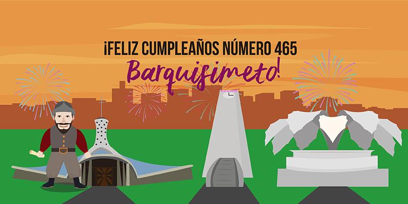 Barquisimeto cumpleaños 465